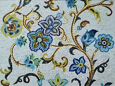 Mosaic Designs - Goldy Posy Mosaic Designs Flowers And Trees Mosaic Tile