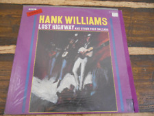 Hank Williams Lost Highway and Other Folk Ballads 665209 Vintage Vinyl Record LP
