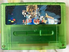 *NEW* 118-in-1 Green SNES Game Cart (PAL) for Super Nintendo