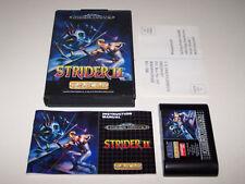 Strider II 2-locale Mega Drive-REGNO UNITO PAL-BOXED & Completo-exc cond