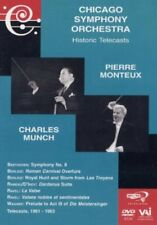 Chicago Symphony Orchestra - Historic Telecasts Pierre Monteux Charles Munch DVD