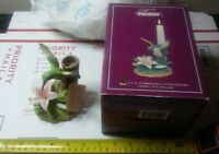 SEYMOUR MANN HUMMINGBIRD CANDLE HOLDER CLT-65 IN BOX 1996 CONNOISSEUR COLLECTION