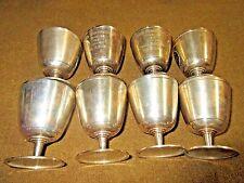 WESTON GOLF CLUB 1934 STERLING 8 TROPHY CUPS