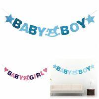 la mode lieu baby shower mignon bébé drapeau anniversaire bunting. petite fille