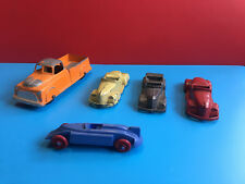 Old Vtg Tootsie Toy Lot of 5 NON Perfect Cars