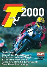 Isle of Man TT - Official Review 2000 (New DVD) Motorcycle Road Racing Bike