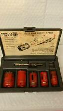 MATCO TOOLS 7 PC HOLE SAW KIT #HSV7K
