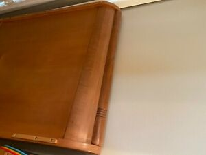 Baby Crib Wood Slate and Mattress Simmons Beauty Rest. Excellent Condition.