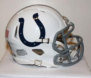 Andrew Luck Indianapolis Colts Speed Riddell Custom Mini Helmet