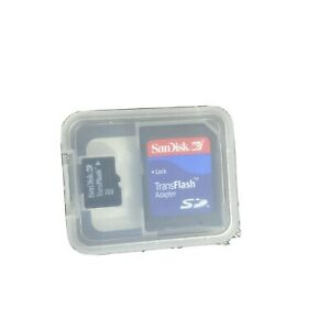 Brand new Sandisk 32mb Micro SD Memory Card With Adapter