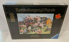 Ravensburger Jigsaw Puzzle Canadian Artist Pauline Paquin Kitten in the Tree