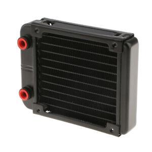 """120mm Computer PC Wasserkühler Kühler 120mm Lüfter G1 / 4 """"10 Pipes Laptop"""