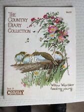Country Diary Counted Cross Stitch Chart Book