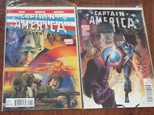 Lot of 2 CAPITAIN AMERICA Forever Allies MARVEL Comic Books Adult Owned Boarded