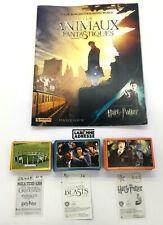 PANINI HARRY POTTER LES ANIMAUX FANTASTIQUES - 1 ALBUM + 342 VIGNETTES STICKERS