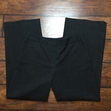 "Lafayette 148 Dress Pants Size 8 Womens Gray Wool Wide Leg Stretch 28"" Inseam"