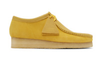 CLARKS ORIGINALS WALLABEE MENS SHOES YELLOW SUEDE 54742