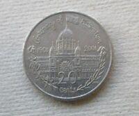 AUSTRALIAN  2001 CENTENARY OF FEDERATION...VICTORIA...20 CENT COIN.