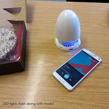 Bluetooth Wireless Portable UFO Speaker Rechargeable for Samsung iPhone iPad