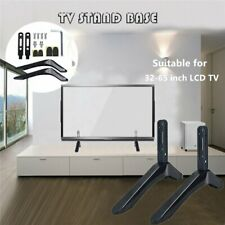 Universal Table Top TV Stand Base Bracket Mount for 32-65 inch Flat-Screen LCD