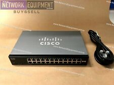 Cisco SG102-24 v02 24 Port Gigabit UnManaged 2 mini-GBIC slots Switch SR2024CT