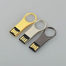 3Lot 32GB USB2.0 Pen Drive Key Ring Memory Stick Waterproof USB Flash Drives