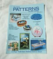 Glass Patterns Quarterly SUMMER 1987 VOL.3 NO.2 Christmas in July Beading Fusing