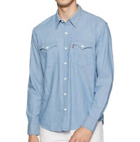 Levi's Men's Classic Western Long Sleeve Button Up Casual Dress Shirt 574060009