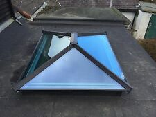 Skypod Roof Lantern 1000mm x 1500mm ALL ANTHRACITE GREY inside and out