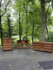Basque Provincial by Drexel Wood Furniture Bedroom Set