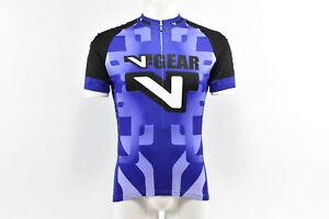 Verge V-Gear Men's S/S Cycling Jersey, Purple, Size Medium, Brand New