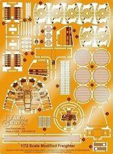 Paragrafix 1/72 Star Wars: Millennium Falcon Photo-Etch 180  for Fine Molds