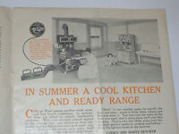 VINTAGE 1924 OLIVER OIL-GAS STOVE & HEATER CATALOG! PICTURES & PRICES! BURNERS!