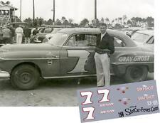 CD_1626 #7 Bob Flock   1951 Oldsmobile 1:64 scale decals   ~OVERSTOCK~