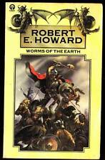 1976 UK paperback WORMS OF THE EARTH Robert E. Howard