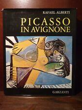 Arte pittura Rafael Alberti - Picasso in Avignone 1972 Garzanti anniv compleanno
