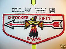OA Cherokee Lodge 50, F-1, First Flap,FF, One Per Life,NO Trading, Birmingham,AL