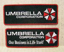 Resident Evil Umbrella Corporation Logo Embroidered Patch Set of 2 (REPA-HLSET)