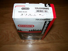 """1 72LGX060G Oregon full chisel chainsaw chain 16"""" 3/8 .050 60 DL replace 33RS 60"""