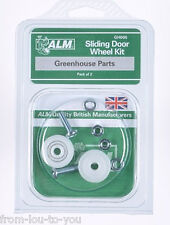 Greenhouse replacement sliding door wheel kit - 28mm