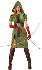 Déguisement Femme ROBIN des BOIS M/L 40/42 Super Héro Archer Film NEUF