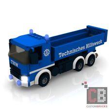 BAUANLEITUNG Eigenbau Custom THW LKW Truck Kipper MOC für LE GO® Steine