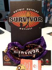 SURVIVOR Buffs BLOOD Vs Water Purple KASAMA TRIBE Buff BNWT Season 27
