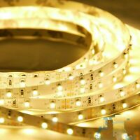 5M 2835 Warm White color Indoor /Ooutdoor Flexible Strip SMD LED Light 12V 3000K