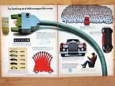 1972 VOLKSWAGEN  X-LARGE COLOR MAGAZINE AD  26 x 21