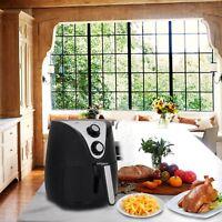 Electric Air Fryer W/ Rapid Air Circulation, Temperature Control, Timer 3.7 QT