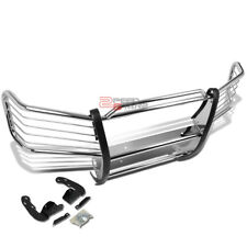 FOR 02-09 CHEVY TRAILBLAZER EXT STAINLESS STEEL FRONT BUMPER BRUSH GRILLE GUARD