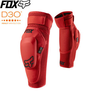 Fox Launch Pro D3O Elbow Guards - Red