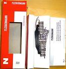 électrique Aiguillage à droite 24° Fleischmann 22251 N 1:160 micro
