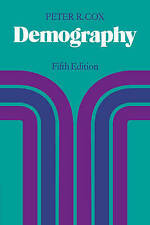 NEW Demography by Peter R. Cox